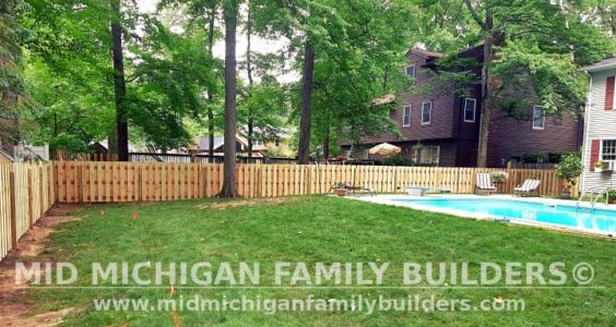 Mid Michigan Family Builders New Fence Project 07 2021 04 05