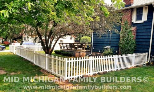Mid Michigan Family Builders New Fence Project 07 2021 05 02