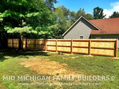 Mid Michigan Family Builders New Fence Project 08 2021 01 02