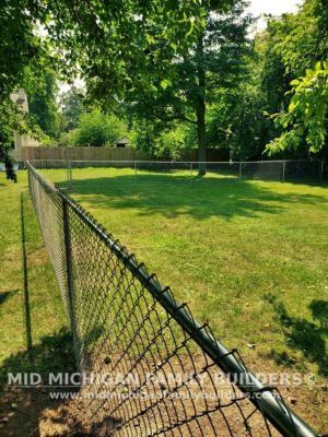 Mid Michigan Family Builders New Fence Project 08 2021 03 01