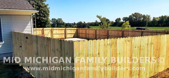Mid Michigan Family Builders New Fence Project 09 2021 02 05
