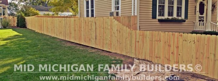 Mid Michigan Family Builders New Fence Project 09 2021 04 05