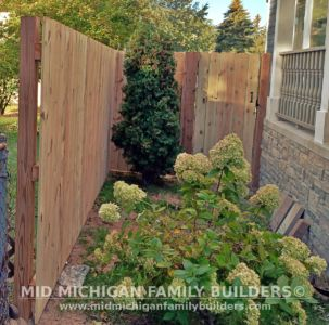Mid Michigan Family Builders New Fence Project 09 2021 04 06