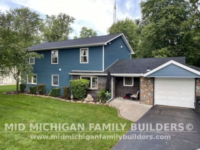 Mid Michigan Family Builders New Roof and Siding Project 09 2021 03 01