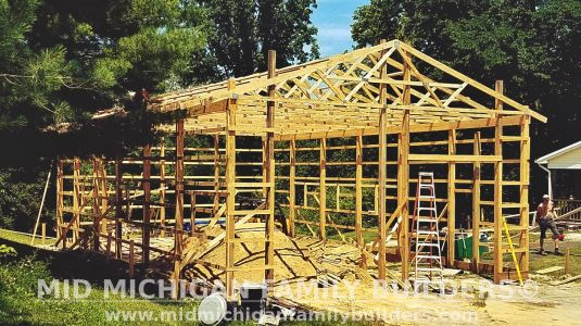 Mid Michigan Family Builders Pole Barn Project 08 2019 01 01