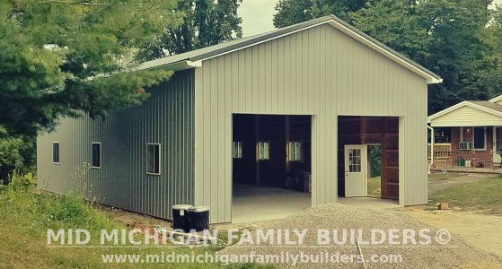 Mid Michigan Family Builders Pole Barn Project 08 2019 01 04