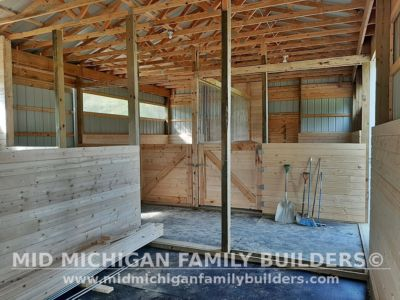 Mid Michigan Family Builders Pole Barn Project 09 2020 01 03