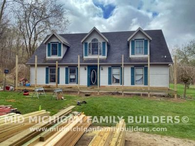 Mid Michigan Family Builders Roof Porch Deck Project 05 2021 01 07
