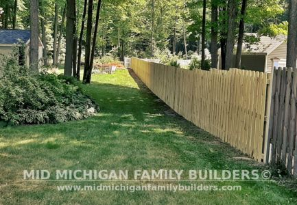 Mid Michigan Family Builders Shadow Box Fence Project 07 2020 01 02