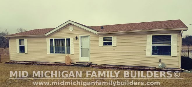 Mid Michigan Family Builders Siding Front Porch Roof Garage Project 06 2019 01 01