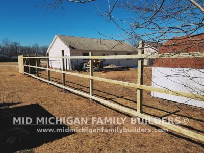 Mid Michigan Family Builders Wooden Fence Project 03 2019 01 01