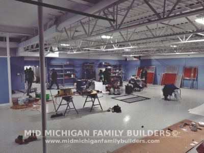 Mid Michigan Famliy Builders Blue Water Pet Care Progress Shots 01 2020 21