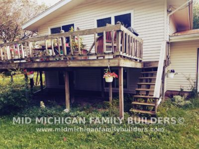 Mid Michigan Famnily Builders Deck Project 11 2018 01