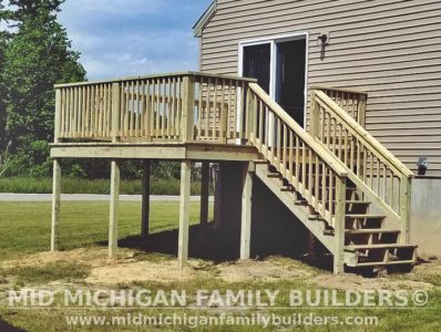 Mid Michigan family Builders Deck Project 06 2020 02 01