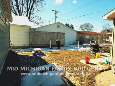 Mid Michigan Family Builders Wooden Fence Project 04 2019 01 03