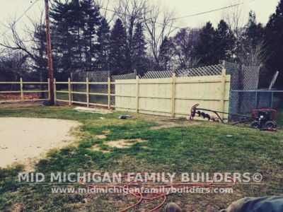 Mid Michigan Family Builders Wooden Fence Project 04 2019 02 02