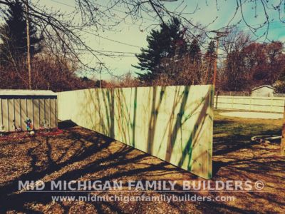 Mid Michigan Family Builders Wooden Fence Project 04 2019 02 04