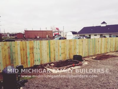 Mid Michigan Family Builders Wooden Fence Project 05 2019 01 01