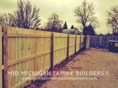 Mid Michigan Family Builders Wooden Fence Project 05 2019 01 02