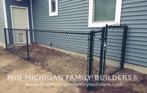 Mid Michigan Family Builders Wooden And Metal Fence Project 04 2019 01 05