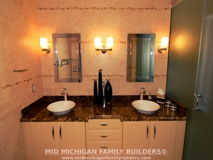Mid Michigan Family Builders Custom Construction Project Bathroom Bathrooms