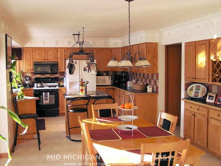Mid Michigan Family Builders Custom Construction Project Kitchens