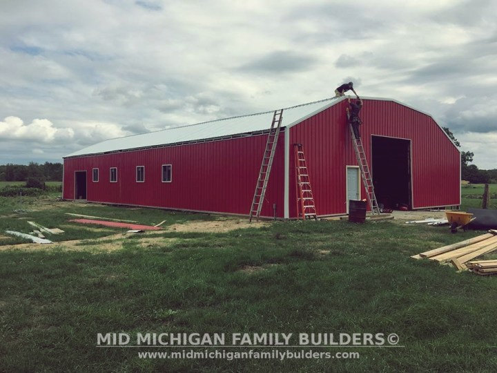 Mid Michigan Family Builders Custom Construction Project Pole Barns Structures