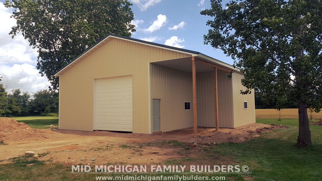 Mid Michigan Family Builders Custom Construction Project Pole Barn Structures