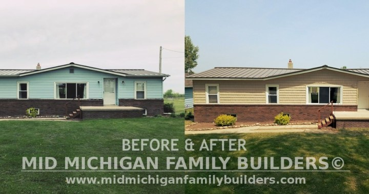 Mid Michigan Family Builders Custom Construction Project Home Remodeling Decks Deck Decking Roofing Roofs Siding Interior