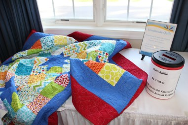 Quilt Donated by long-time member Dawn Bartley.