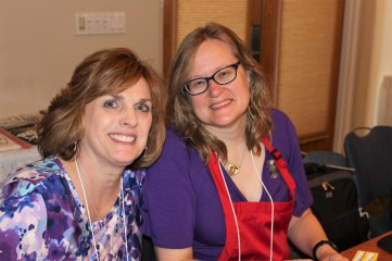 Retreat Chair, Annie O'Rourke and Right-Hand, Dawn Bartley
