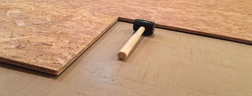 Tap in the SubFloor, One Tile at a Time