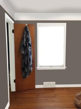 bedroom sample e picture rail