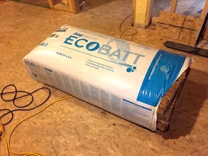 batt insulation wrapped