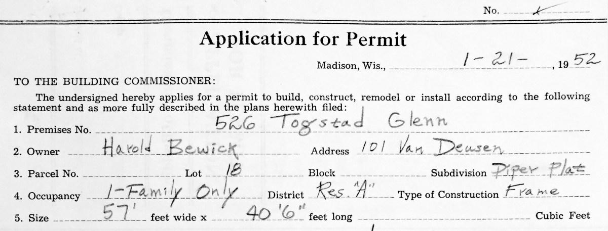 Harold Bewick: Builder of My Ranch