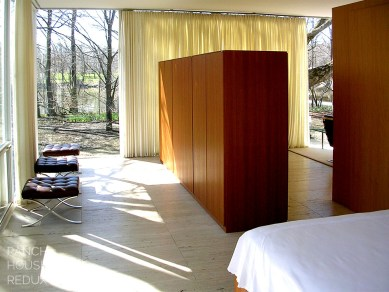 farnsworth bedroom with a view