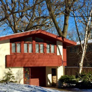 cherokee red house split level with covered entry