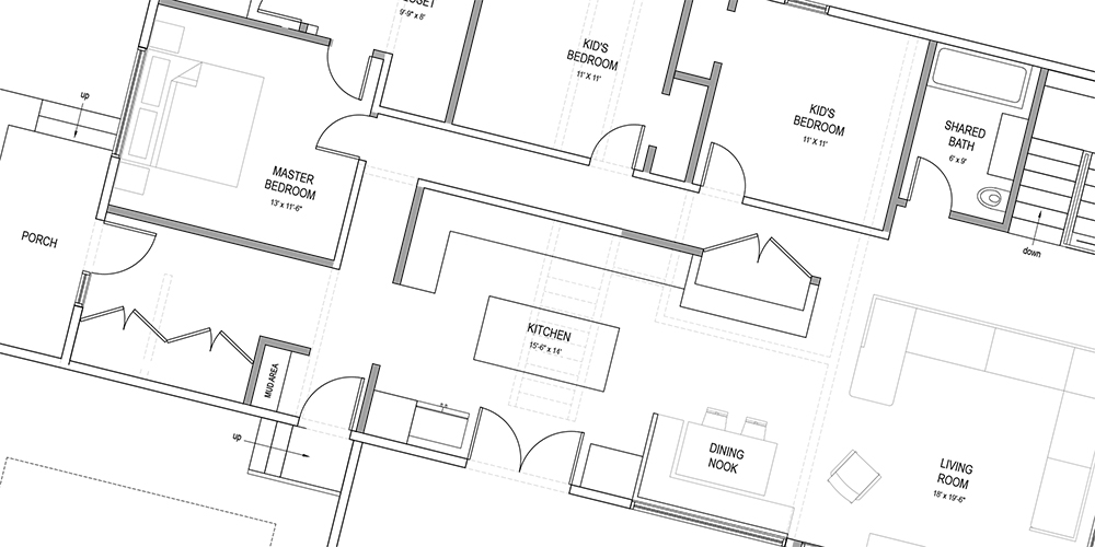 Case Study: How to Fix a Bad Ranch Floor plan