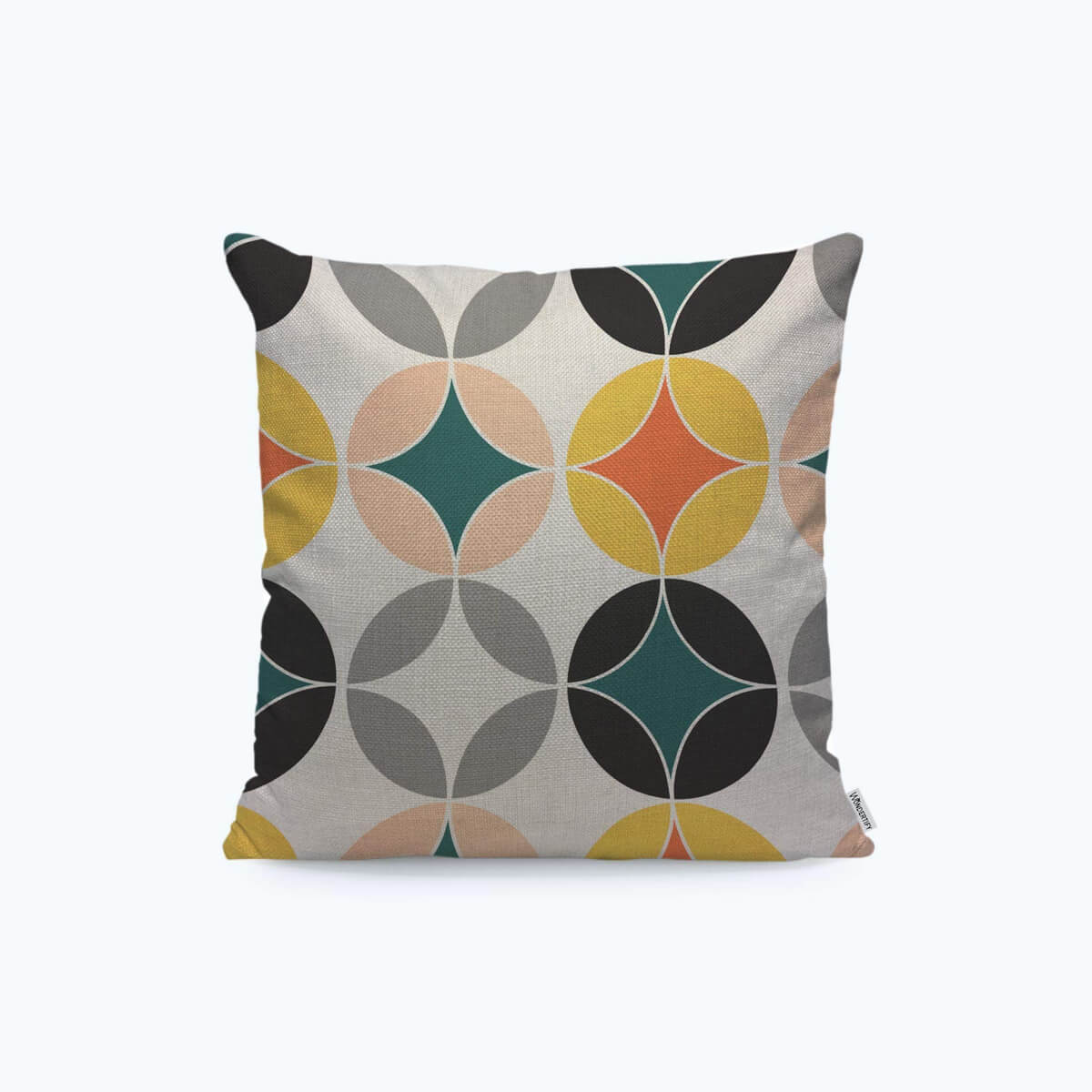 mid century modern pillow cover