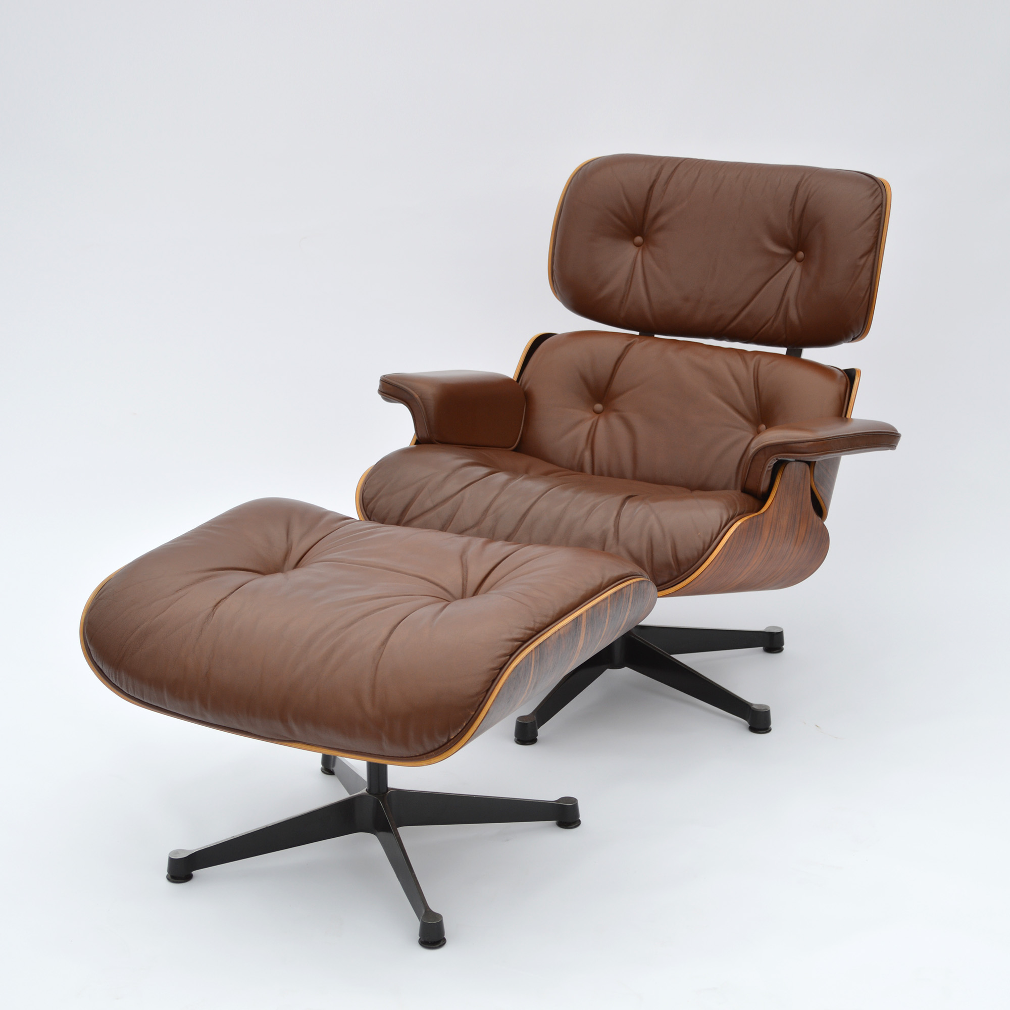 vitra lounge chair hover round 1977 rio palisander original eames ottoman herman miller by