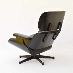 Black Eames Chair Kitchen Cushion Vitra Lounge Cheaper Used In Munich