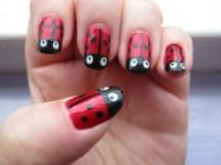 Ladybird Nails | midn1ghtbutterfly