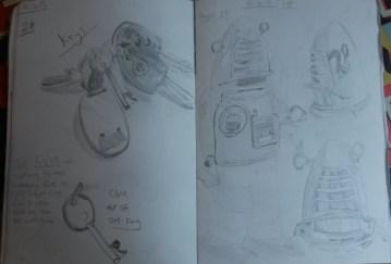 Keys and Robot