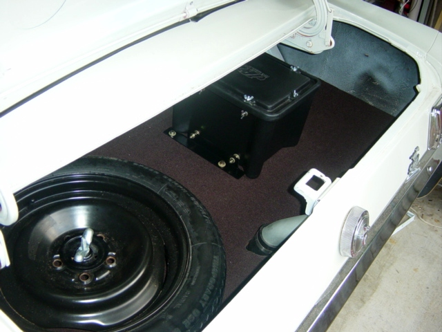 In A Battery To Trunk Relocation Mustang Get Free Image About Wiring