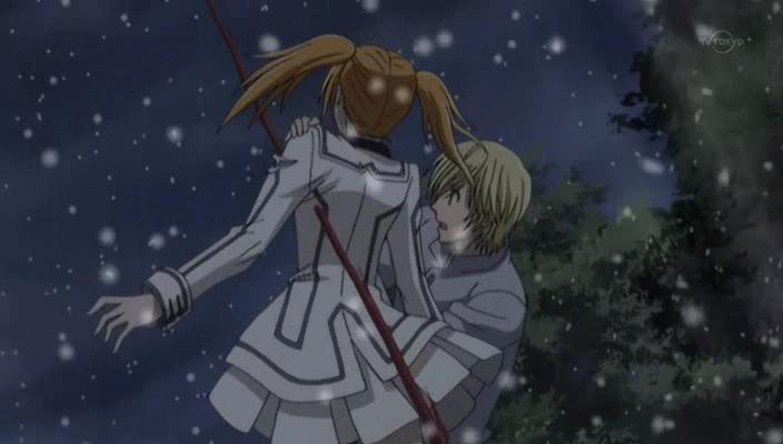 Girl Died Boy Crying Wallpaper Vampire Knight Guilty Episode 8 Awaking Butterfly