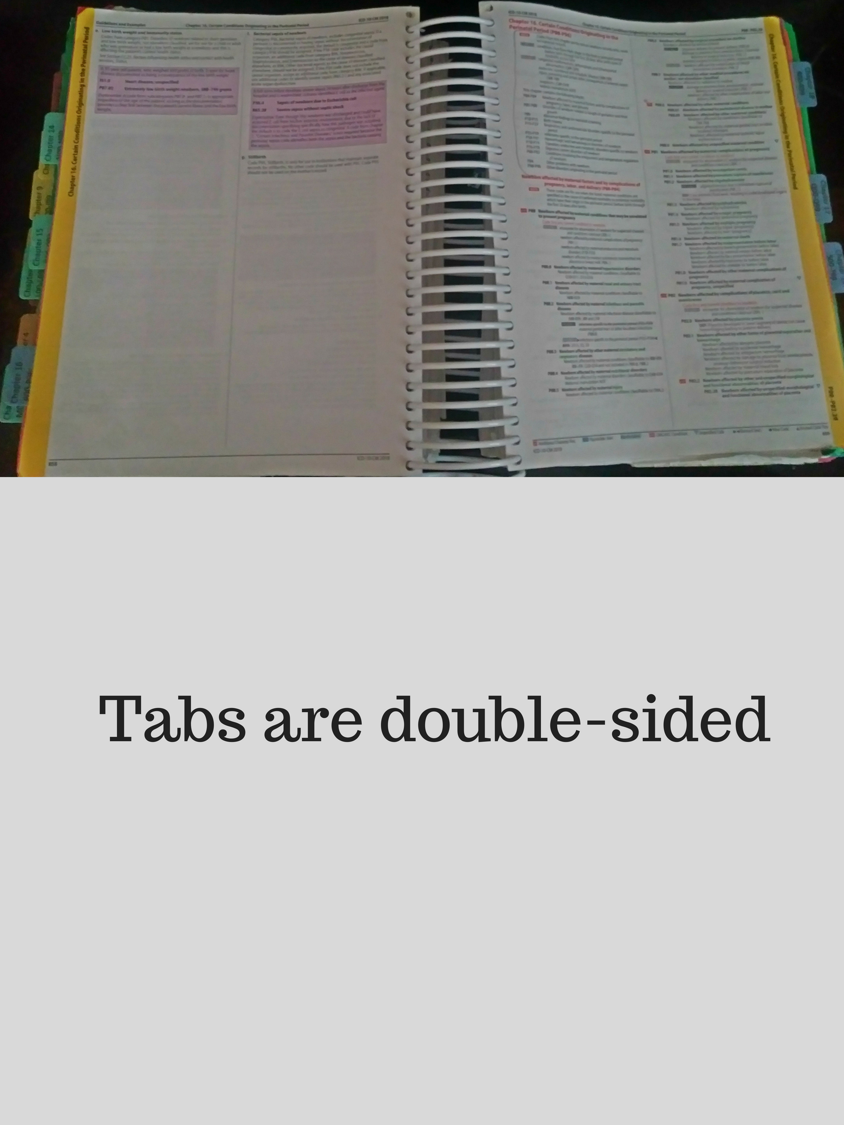 Tabs For The Icd 10 Cm Book