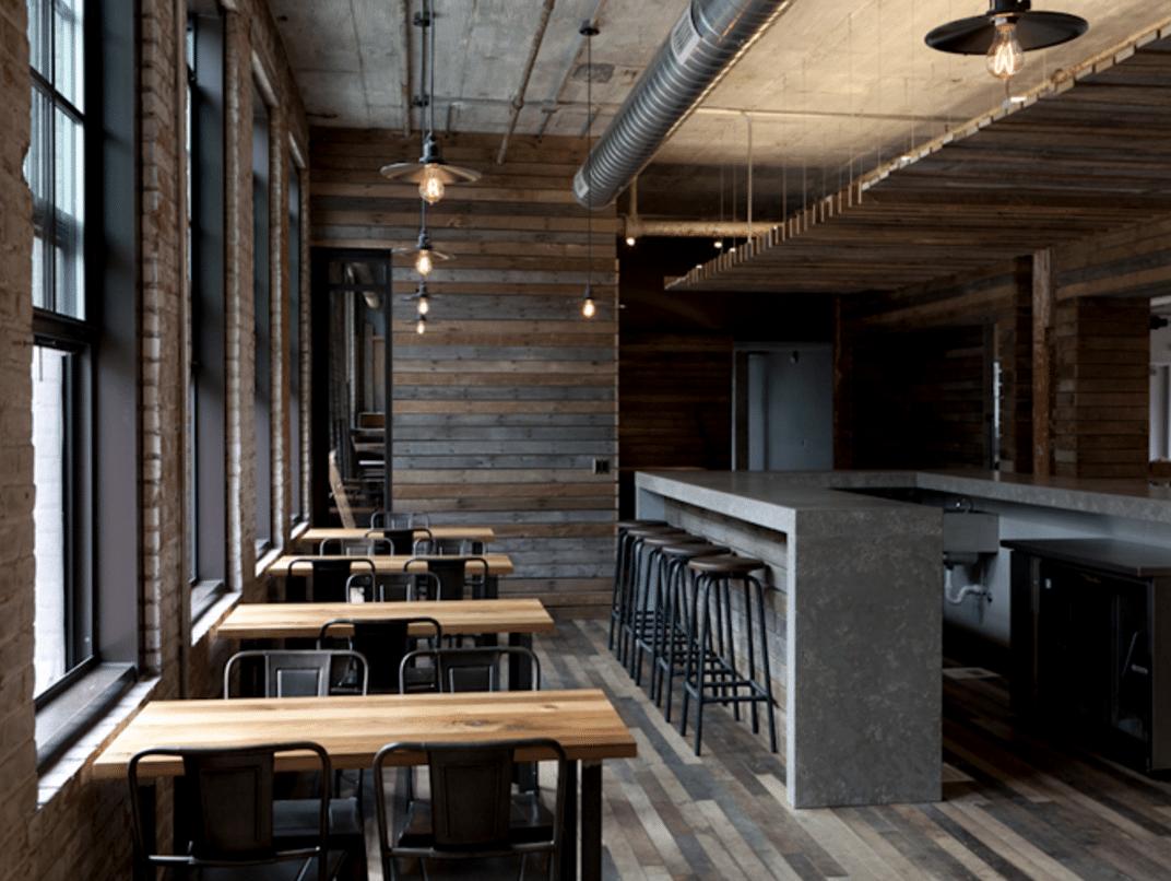 Journeyman Distillery bar and restaurant
