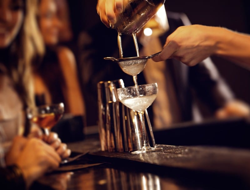 Behind the bar tasting whats new