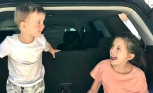 Road Trip with Kids: The Backseat Bin