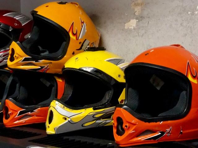 go karting helmet